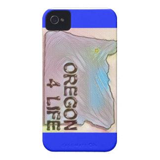 """Oregon 4 Life"" State Map Pride Design iPhone 4 Case-Mate Cases"