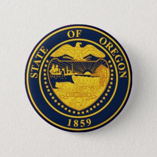 Oregon 6 Cm Round Badge