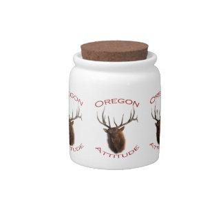 Oregon Attitude Ceramic Lolly Jar