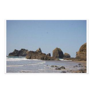 Oregon Beach Customised Stationery