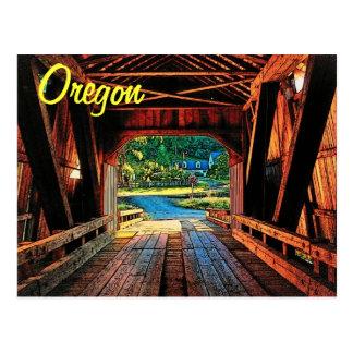 Oregon Bridge Postcard