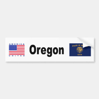 Oregon Bumper Sticker