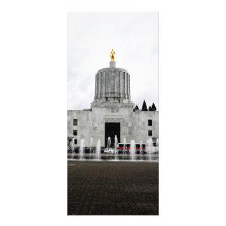 Oregon Capitol 10 Cm X 23 Cm Rack Card
