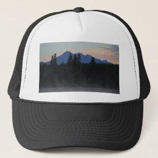 Oregon Cascades at Dawn Trucker Hat