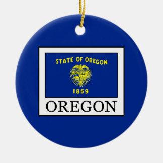 Oregon Ceramic Ornament