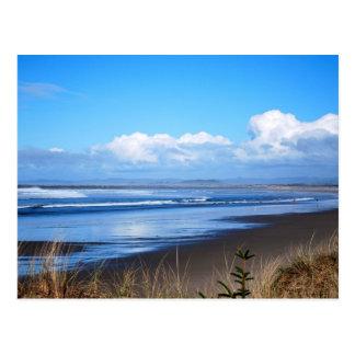 Oregon Charleston Ocean Beach Photo Postcard