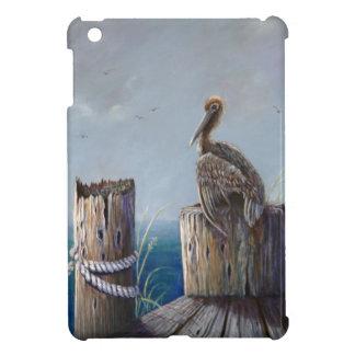 Oregon Coast Brown Pelican Acrylic Ocean Art iPad Mini Covers