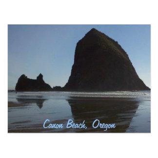 Oregon Coast Canon Beach Postcard