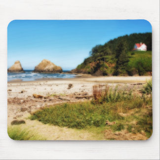 Oregon Coast House Mousepad