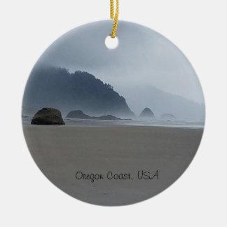 Oregon Coast Pacific Northwest Beach Ornament