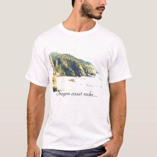 Oregon coast rocks... T-Shirt