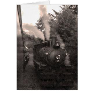Oregon Coast Scenic Railroad Greeting Card