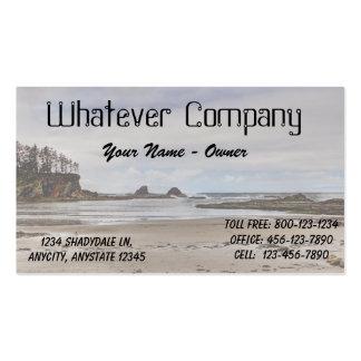 Oregon Coast Seascape (1) Business Card Template