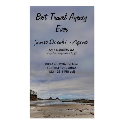 Oregon Coast Seascape Business Card Templates