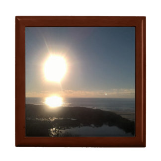 Oregon coast sunset gift box
