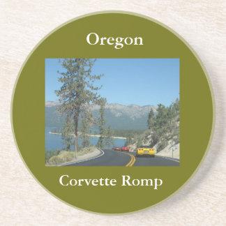 Oregon, Corvette Romp Sandstone Coaster