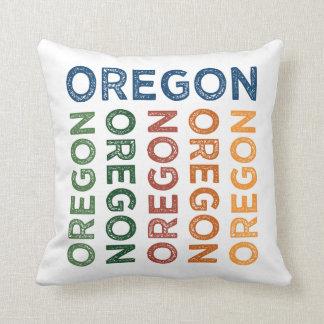 Oregon Cute Colorful Cushion