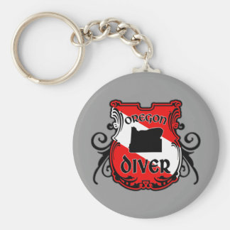 Oregon Diver Key Chain