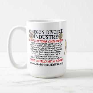 Oregon Divorce Industry. Mug