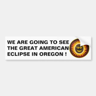 OREGON ECLIPSE STICKER