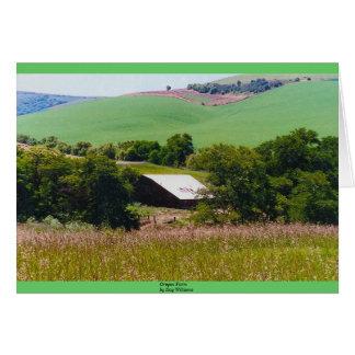 Oregon Farm Card