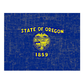 OREGON FLAG POSTCARD