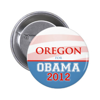 OREGON for Obama 2012 Buttons