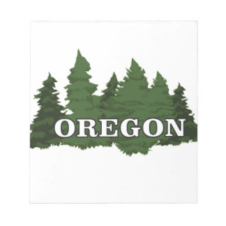 Oregon Forest Notepad