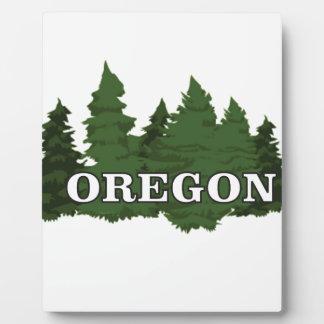 Oregon Forest Plaque