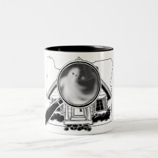 Oregon Ghosties Two-Tone Coffee Mug