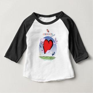 oregon head heart, tony fernandes baby T-Shirt