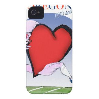 oregon head heart, tony fernandes iPhone 4 Case-Mate cases