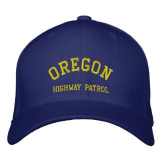 OREGON, HIGHWAY PATROL EMBROIDERED HAT