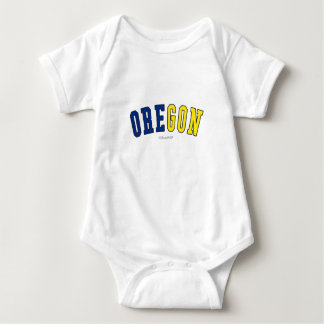 Oregon in state flag colors t shirts