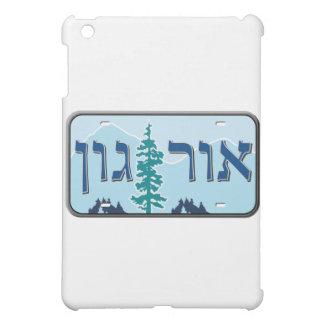 Oregon License Plate in Hebrew Case For The iPad Mini