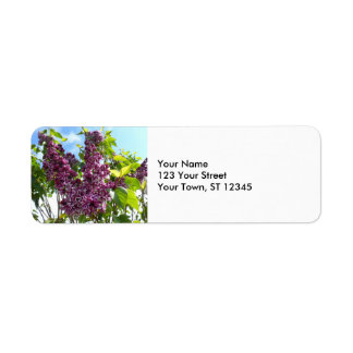 Oregon Lilacs Return Address Label