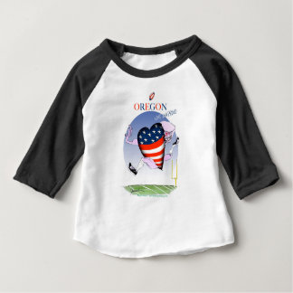 oregon loud and proud, tony fernandes baby T-Shirt