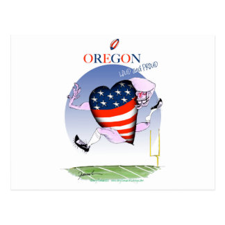 oregon loud and proud, tony fernandes postcard