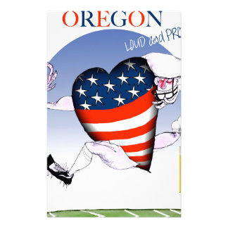 oregon loud and proud, tony fernandes stationery