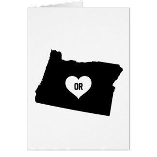 Oregon Love Card