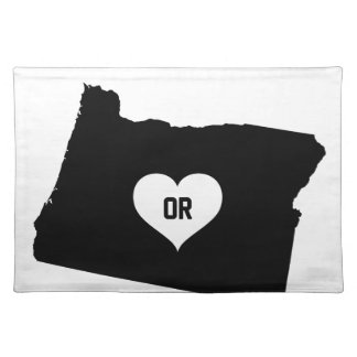 Oregon Love Placemat