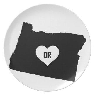 Oregon Love Plate