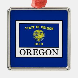 Oregon Metal Ornament
