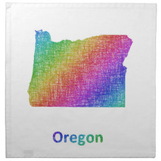 Oregon Napkin