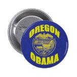 Oregon / Obama Button