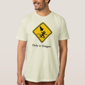 Oregon Owl Attack Warning T-Shirt