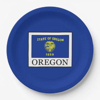 Oregon Paper Plate