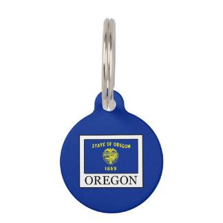 Oregon Pet Name Tag