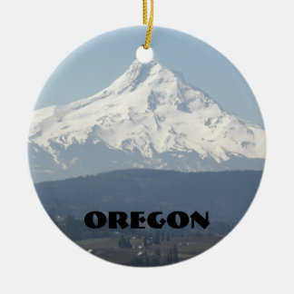 Oregon Photo Ceramic Ornaments