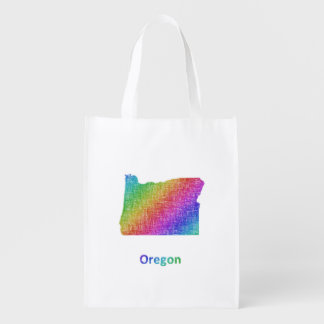 Oregon Reusable Grocery Bag